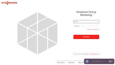 Viessmann Gridbox Konto anlegen