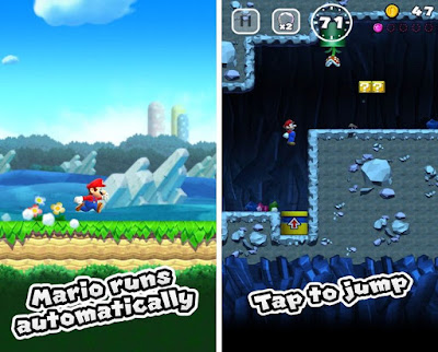 Super Mario Run Game for iPhone and iPad