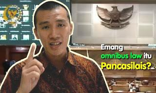 Felix Siauw: Selama ini Mereka Nuduh Orang Lain Anti-Pancasila, Emang Omnibus Law itu Pancasilais?