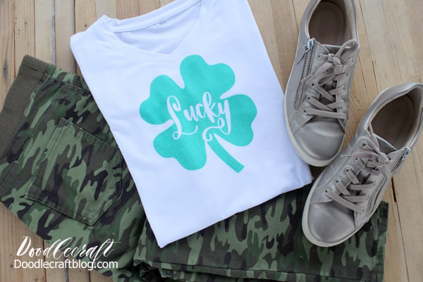 The Cricut Infusible Ink Transfers are cut in reverse and pressed onto the shirt, magically infusing the color and design right into the shirt in a smooth transfer.