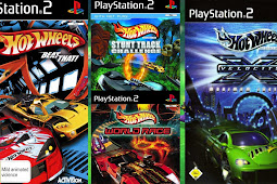 Hot Wheels Collection 4in1 PS2 Multi ISO