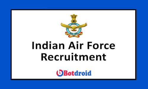 Indian Air Force Recruitment 2021 Apply Online for Group X and Group Y Posts
