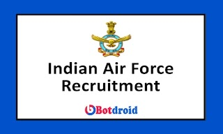 Indian Air Force Recruitment 2021, Apply Online for 257 Group C Posts @indianairforce.nic.in