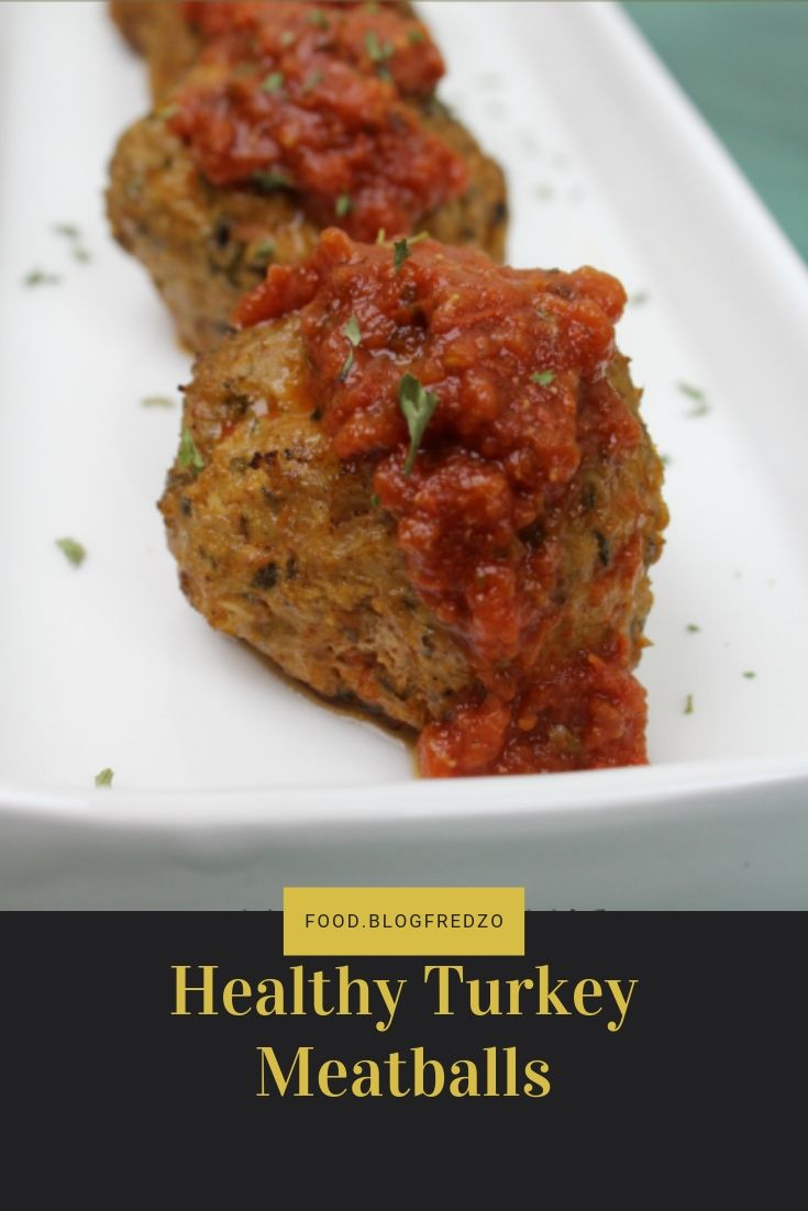 I've never been a fan of turkey meatballs until I tried this turkey meatballs recipe! They are healthy, but so tender and flavorful.
