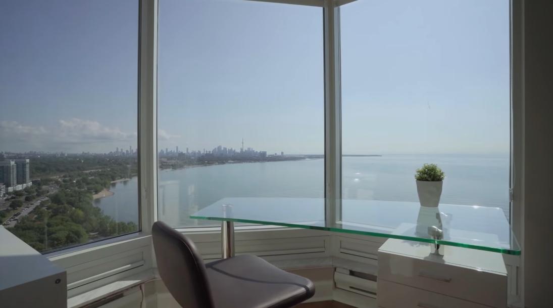 23 Photos vs. 1 Palace Pier Ct #2803, Toronto Interior Design Luxury Condo Tour
