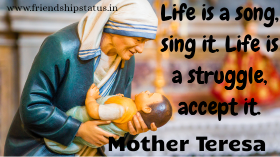 Best 20 Mother Teresa Quotes in English for Inspiration, Peace & Love