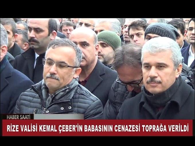 Rize Valisi hemşehrimiz Kemal Çeber'in babasının cenazesi Turhal'da defnedildi.