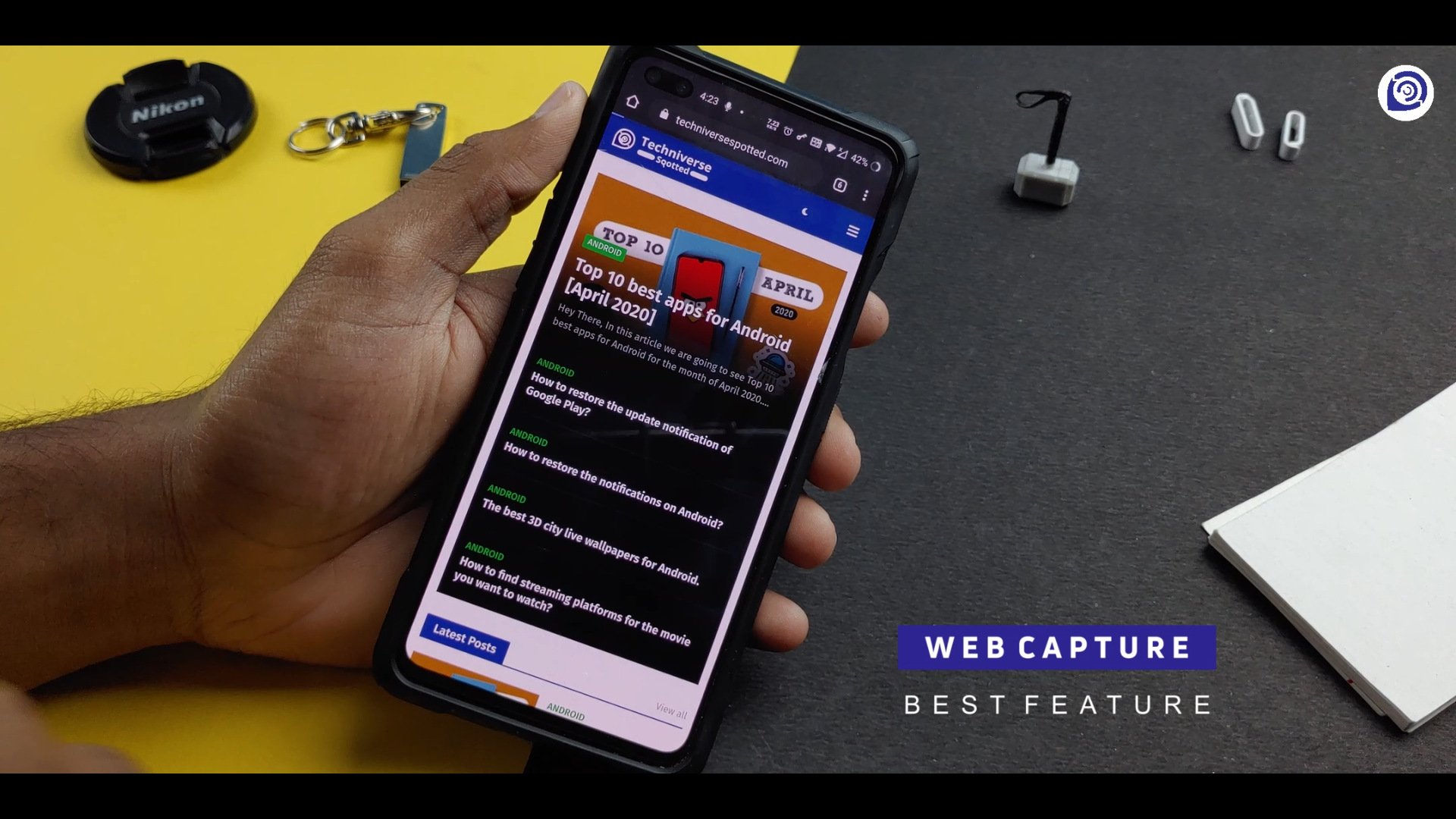 The All-in-one Screenshot Tool on Android.