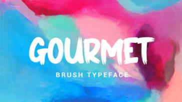 Gourmet Font Free Download