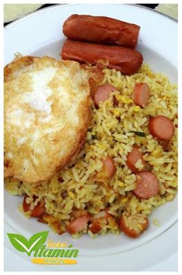 Resepi Nasi Goreng Orang Bujang