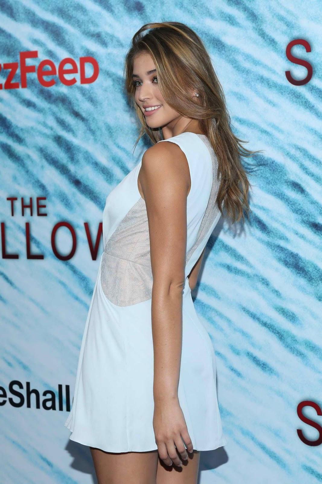 Daniela Lopez Osorio at 'The Shallows' New York Premiere