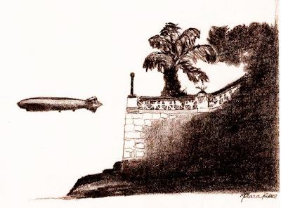 Desenho a partir de fotografia por Maria Clara Medeiros Santos Neves