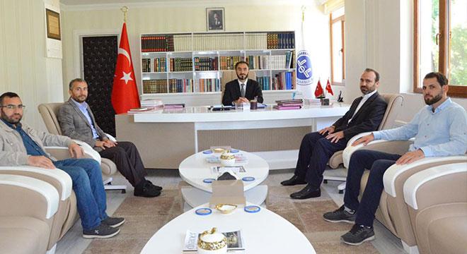 İLKHA'dan Diyarbakır Müftüsü Yavuz Selim Karabayır'a ziyaret
