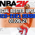 NBA 2K21 OFFICIAL ROSTER UPDATE 01.09.21 LATEST TRANSACTIONS + INJURY UPDATES + UPDATED RATINGS
