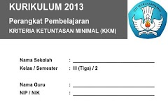 KKM Kelas 3 SD/MI Semester 2 Kurikulum 2013 Edisi Terbaru