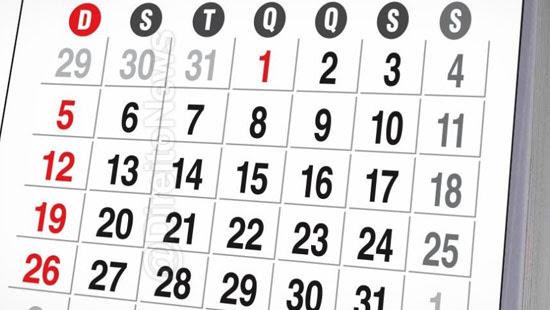 proposta altera comemoracao feriados nacionais semana