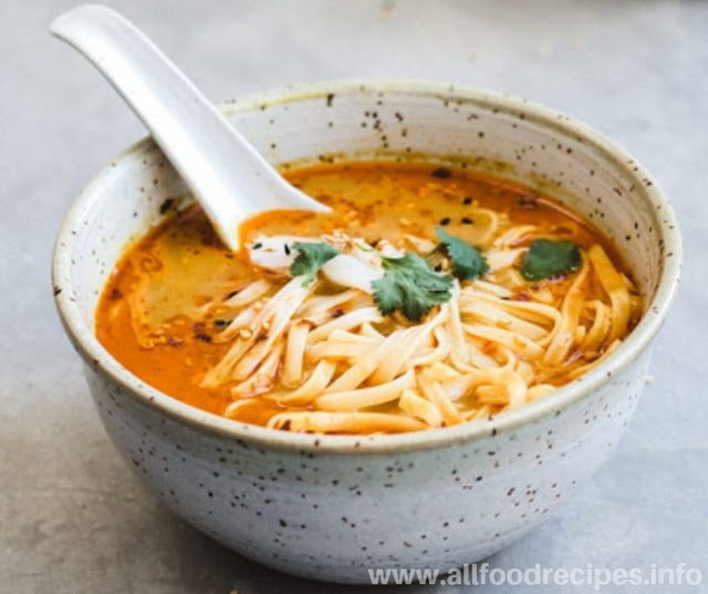 Easy Vegetarian Thai Coconut Soup