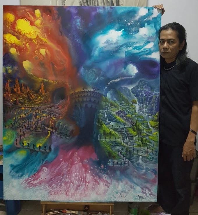 Veri Apriyatno, Seniman Asal Kuningan Jawa Barat Yang Mendunia