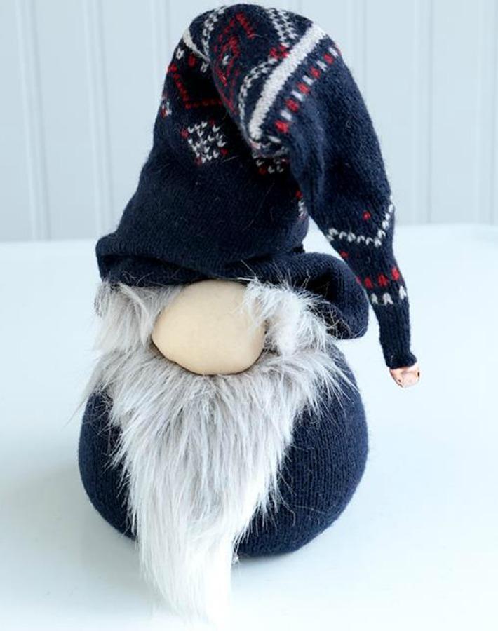 diy gnomo escandinavo Navidad