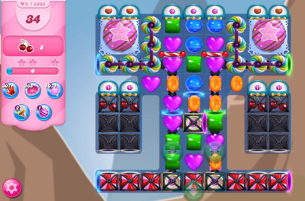 Candy Crush Saga level 8802