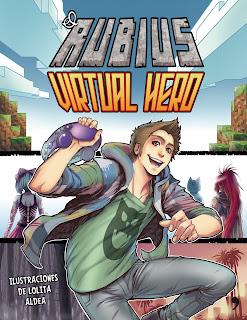 """Anunciada la serie de animación del cómic """"Virtual Hero"""" del Rubius y Lolita Aldea"""