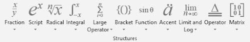 langkah menggunakan equation di microsoft word