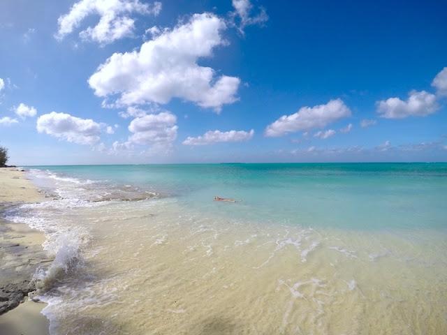 Praia em Clifton Heritage National Park - Nassau