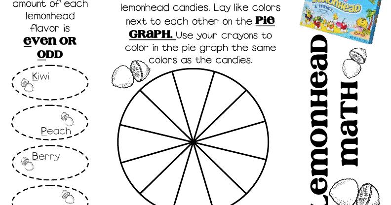 Lory's 2nd Grade Skills: Lemonhead Math... FREEBIE
