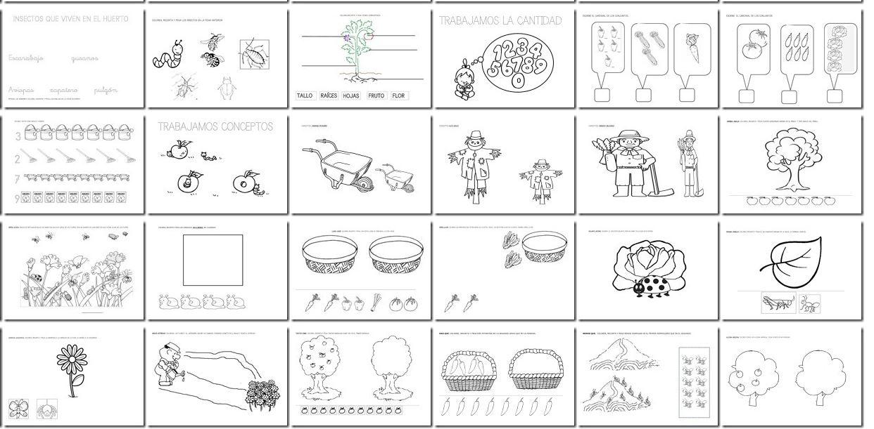 Colorear Dibujos Agricultores Colorear Dibujos Infantiles