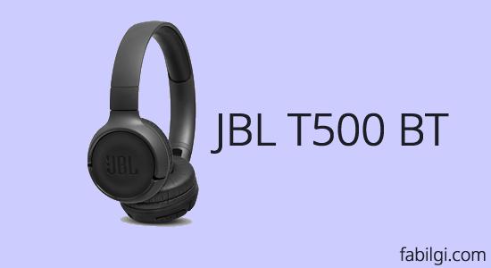 JBL T500 BT (Bluetooth) Kulaklık İyi mi? Kaliteli Bass Kulaklık