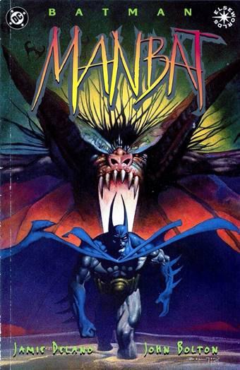 Batman: Manbat, uno de los mejores cómics de Batman, dibujado por John Bolton