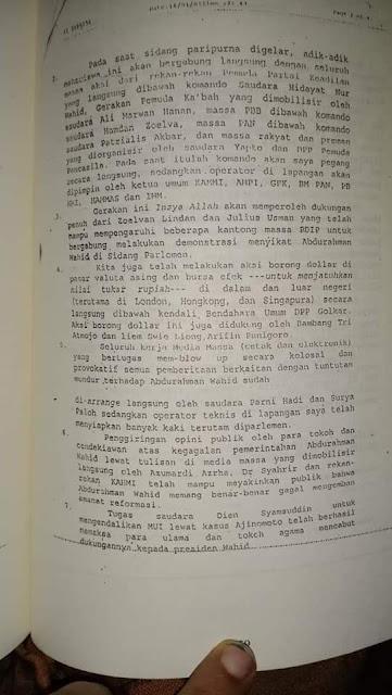 dokumen kudeta presiden republik indonesia