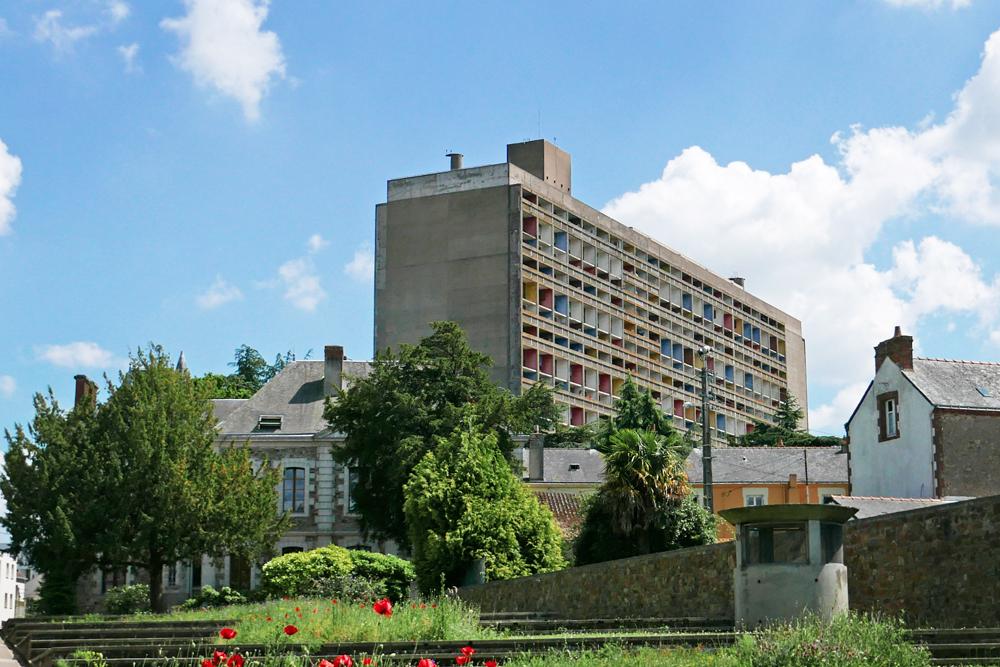 Vue de la Cité Radieuse de Rezé de la mairie