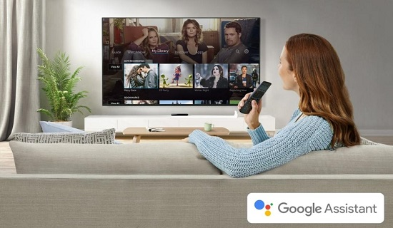 use Google Assistant to watch TV