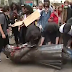 BlackLivesMatter: Protesters destroy a statue honoring slave trader, Edward Colton in England (photos)