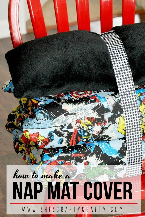 How to make a cover for a napmat or kindermat