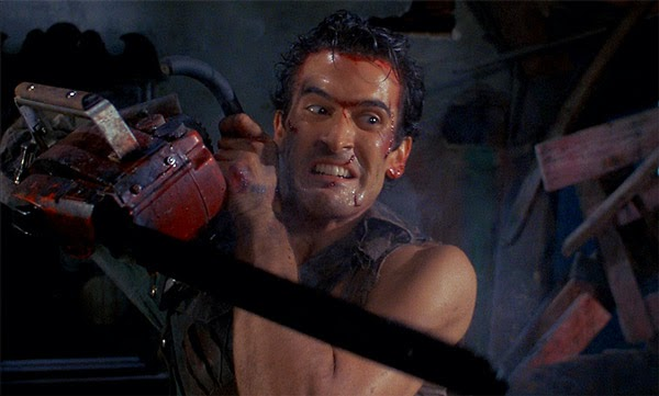 Sam Raimi and Bruce Campbell are writing an Evil Dead TV show