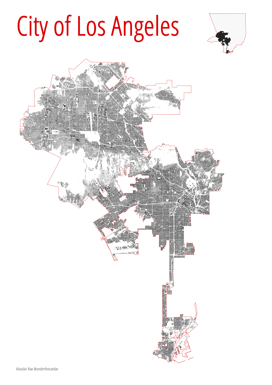 under the raedar: The Urban Fabric of Los Angeles