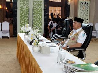 Ini Penyampaian Walikota Jambi Syarif Fasha saat Jadi Narasumber Webinar