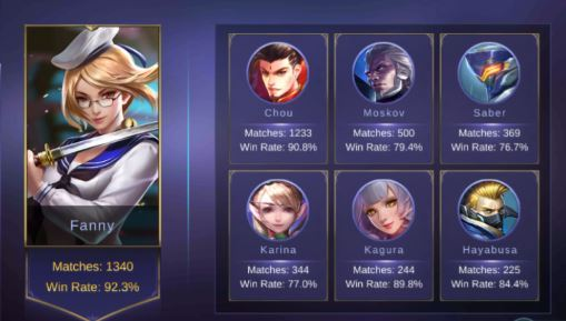 Cara Menjadi Top Global Mobile Legends