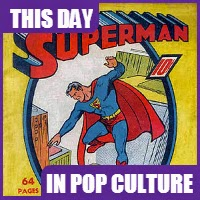 The first Superman comic book was published in June 1939.