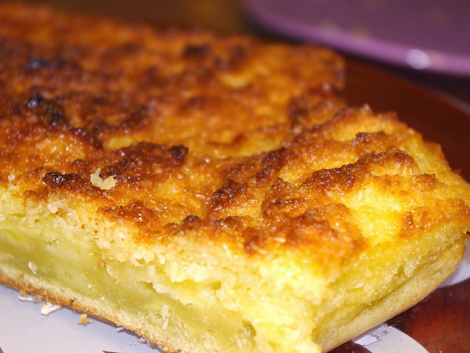 G teau pommes noix de coco l ger et moelleux beaut et sant - Gateau aux noix et pommes ...