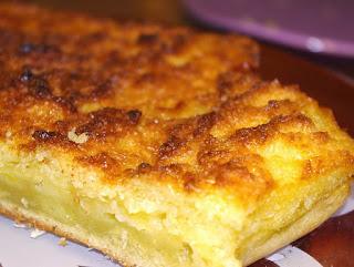 Gâteau pommes - noix de coco light et moelleux