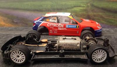 Motor Citroën Xsara T4/WRC Sainz Scalextric iniciación