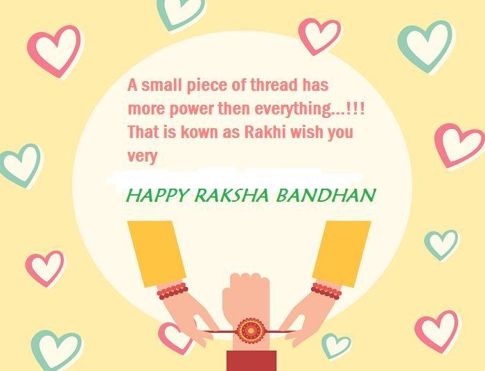 Happy Raksha Bandhan Status Image For Whatsapp
