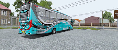 Livery Zaffina Pack for Jetbus 3 Ojepeje