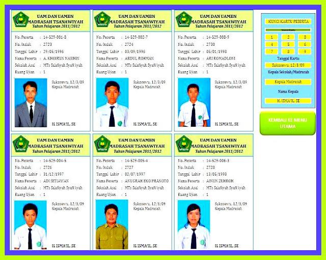 Download Aplikasi Cetak Kartu UAMBN Dan UM Versi Terbaru
