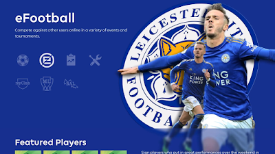 PES 2020 Leicester City Menu Mod by Hawke