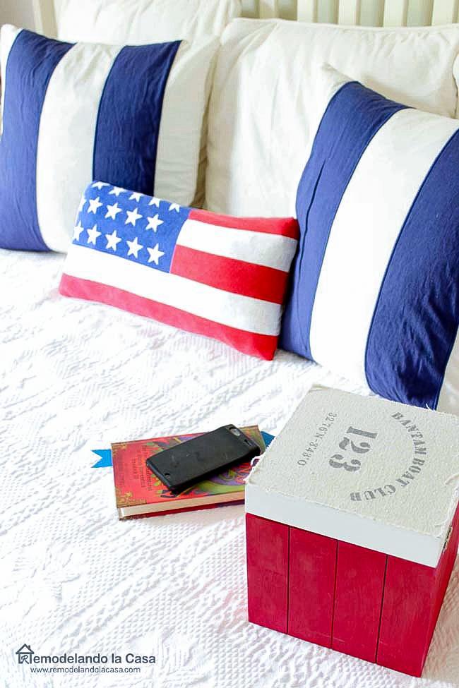 Americana room decor