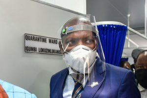 South African health minister tests positive for Covid-19